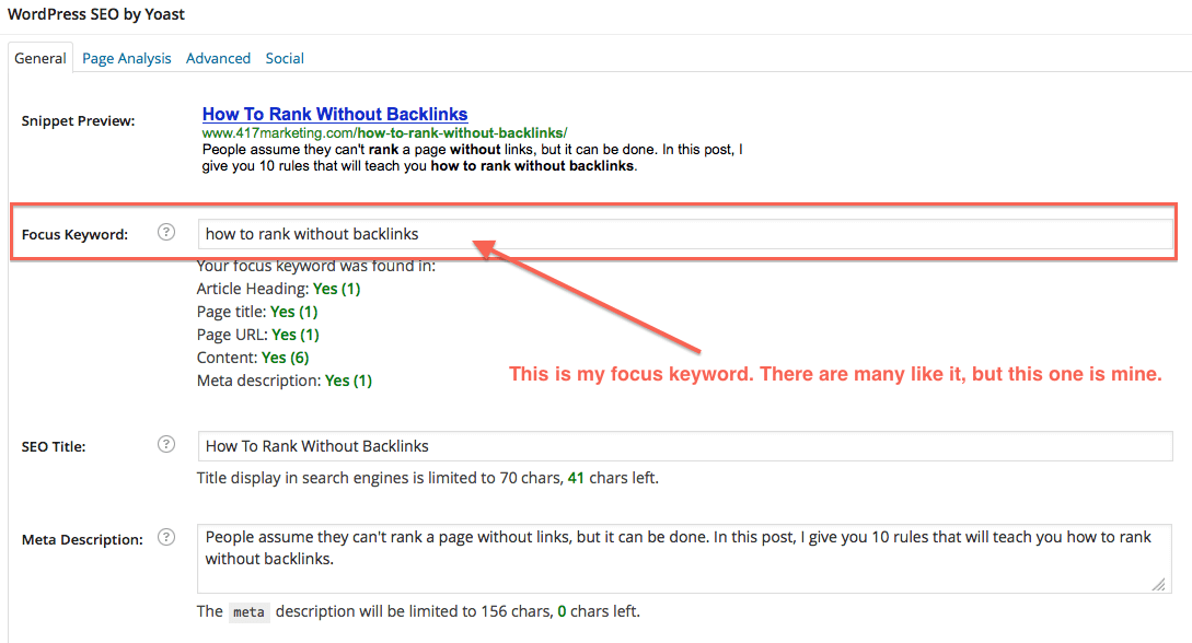 how to rank without backlinks